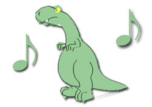 preschool songs dinosaur theme