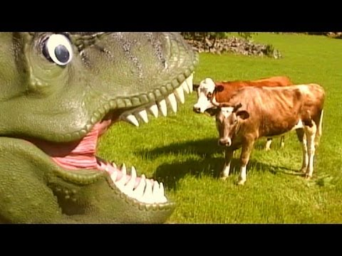dinosaurs videos for kids : t rex