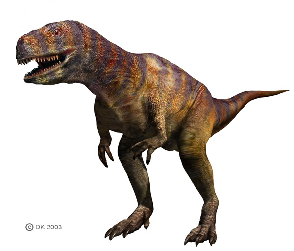 Abelisaurus Weight information