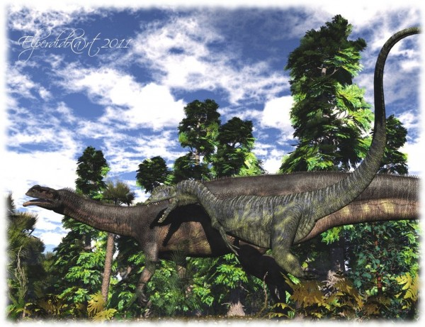 Aardonyx in Jurassic Era