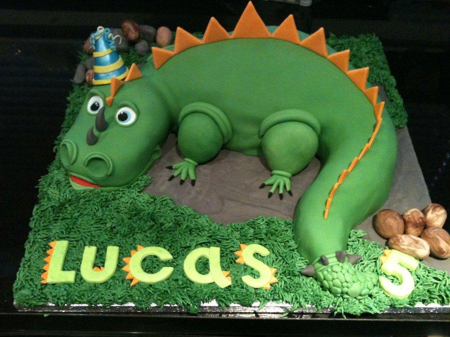 Dinosaurs Birthday Cake Images