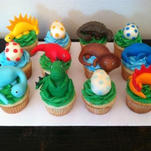 dinosaur cupcakes ideas