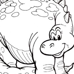 Cute Dinosaurs – Brachiosaurus