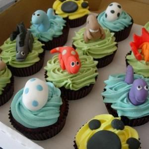 dinosaur cupcakes decorations