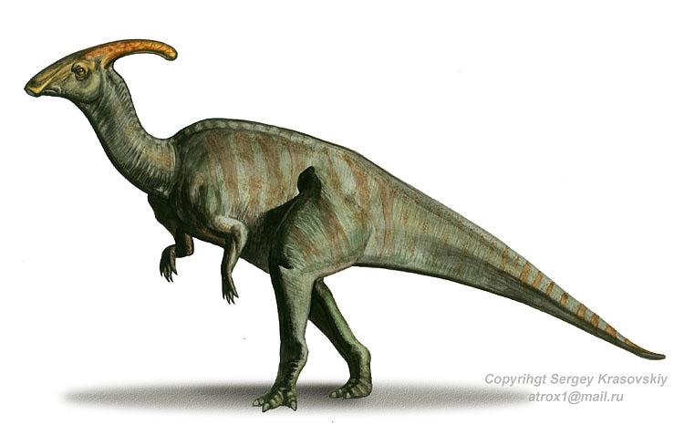 Jurassic Park Dinosaurs - Parasaurolophus