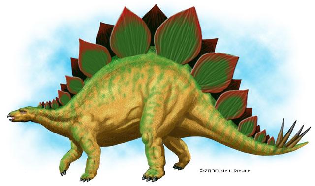 Jurassic Parks Dinosaurs - Stegosaurus