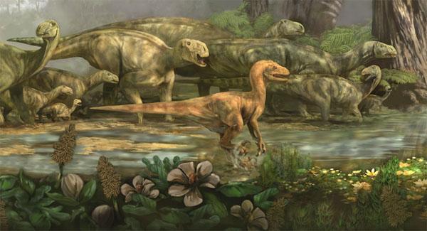 cretaceous period dinosaurs pictures