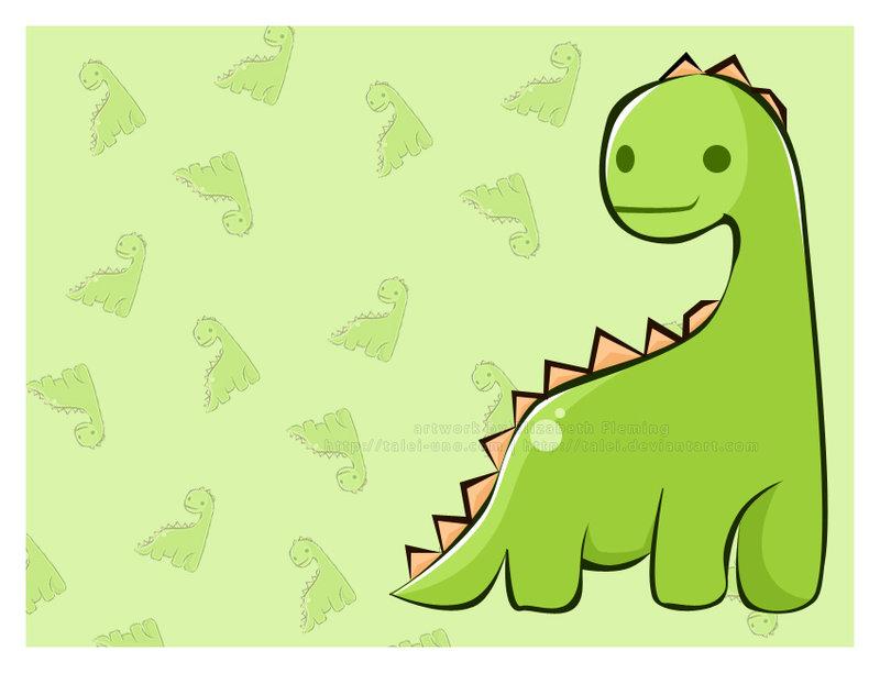 Cute Brachiosaurus Dinosaur Pic