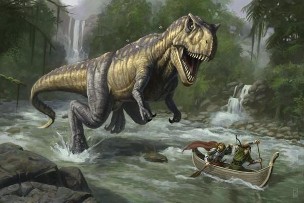 T-Rex Dinosaurs History