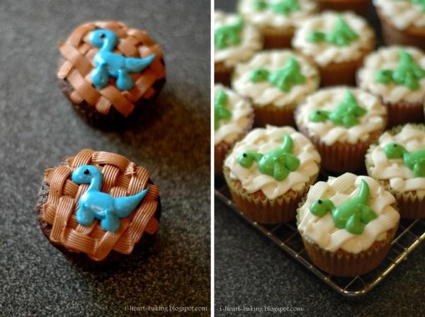 dinosaur cupcake cake childrens cakes
