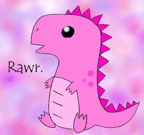 Cute T-Rex Dinosaurs Pic