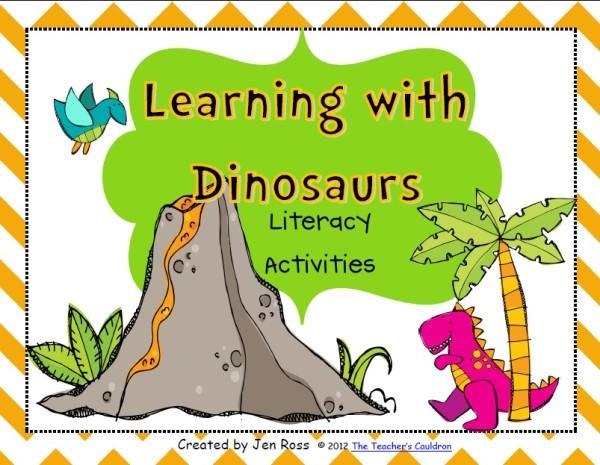 dinosaur lesson plans 2nd grade