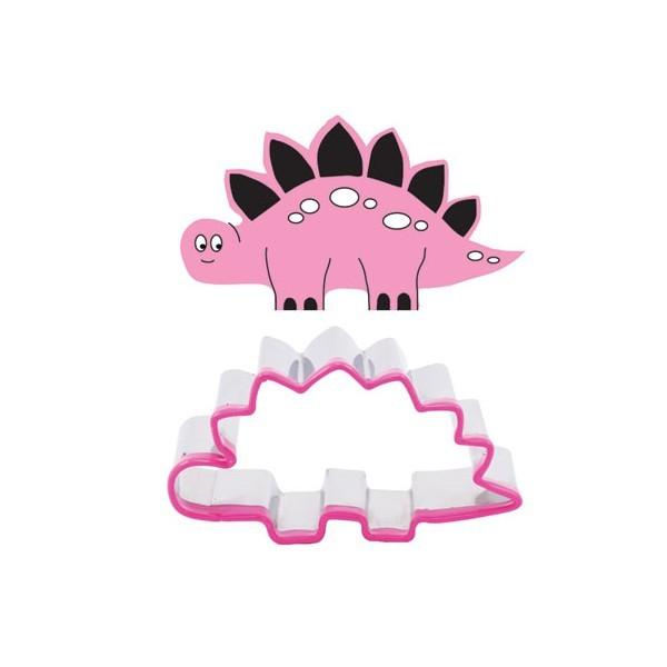 Dinosaur cookie cutter & stamp set