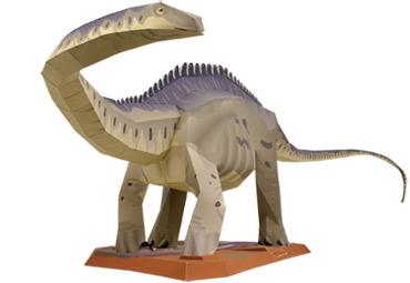 Apatosaurus Papercraft