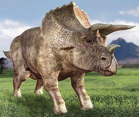 Triceratops Papercraft