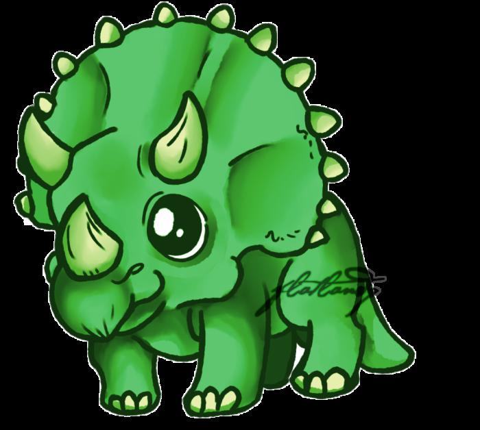 Cute Triceratops Dinosaur Pic