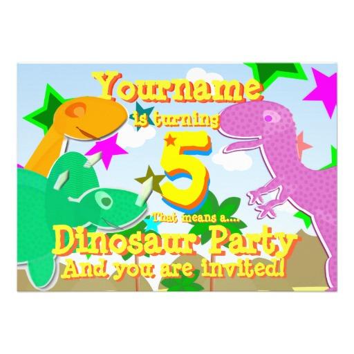dinosaur birthday invitations wording