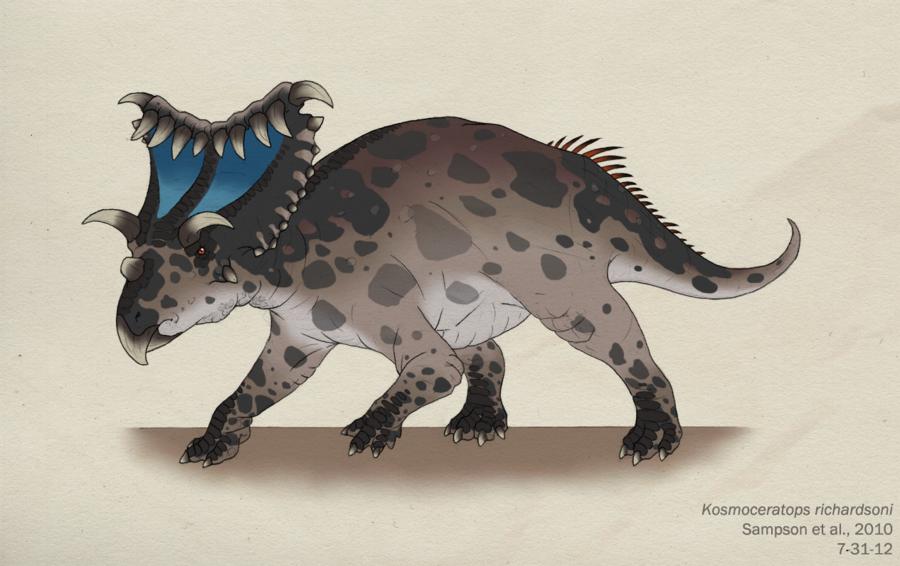 Most Horned Dinosaur-KOSMOCERATOPS
