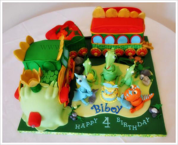 dinosaur train cake walmart