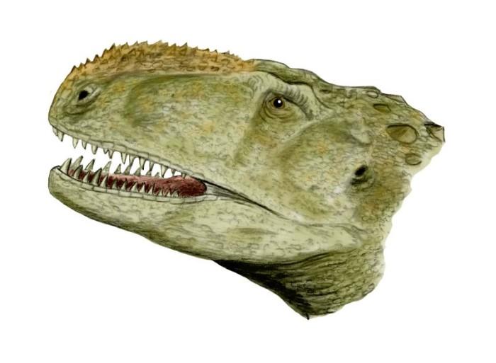 Printable Abelisaurus Coloring Page