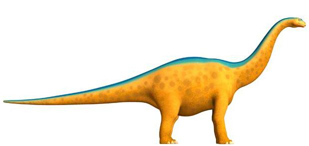 alamosaurus height