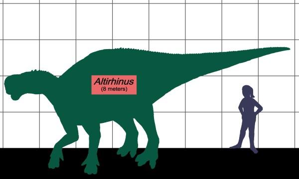 dinosaurio altirhinus