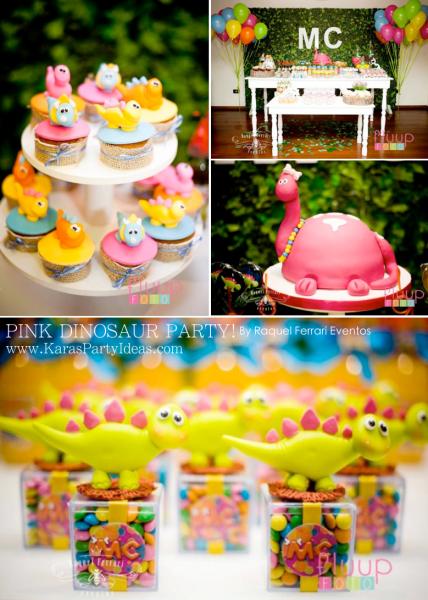 Girl Dinosaur Cake Ideas