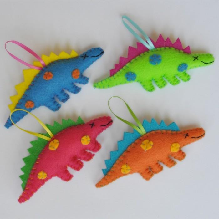 dinosaur christmas decorations