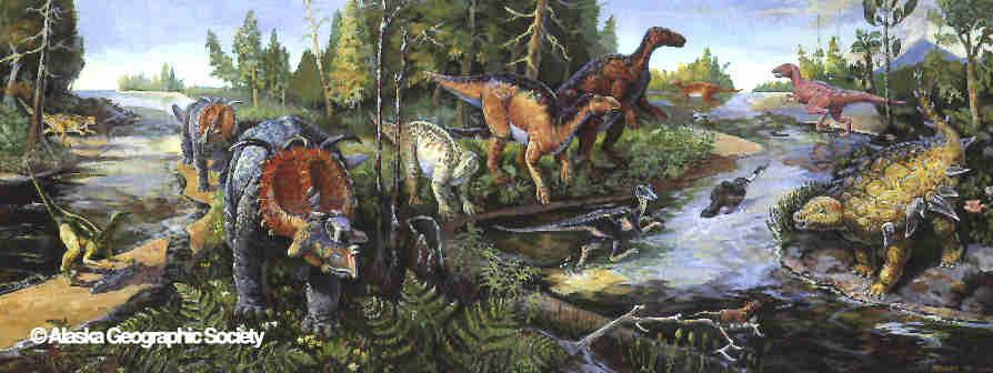 late cretaceous dinosaur species
