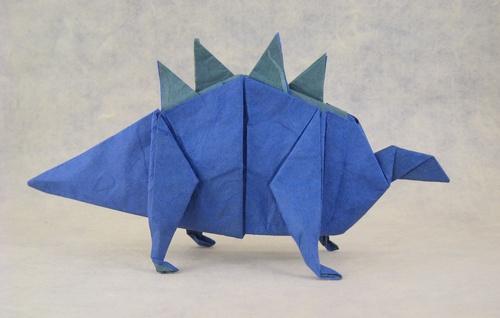 Origami Dinosaurs Stegosaurus
