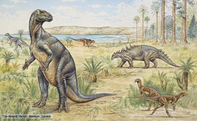 herbivore dinosaurs in the cretaceous period