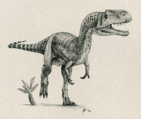 Monolophosaurus Dinosaur Facts