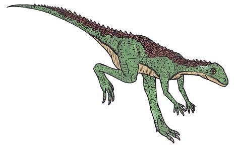 Scutellosaurus Habitat