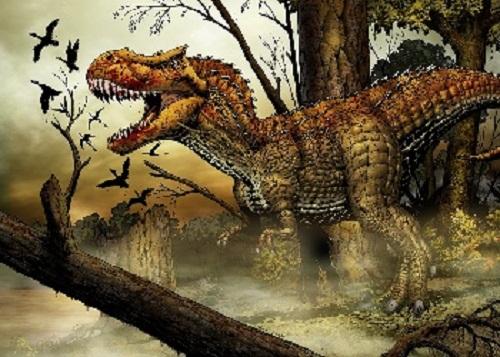 T-Rex Dinosaur Wallpaper