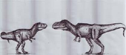 T-Rex vs Giganotosaurus Dinosaur