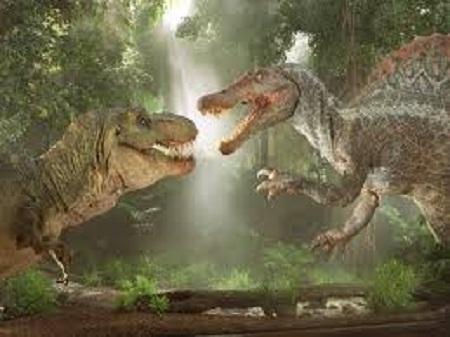 T-Rex vs Spinosaurus Dinosaur