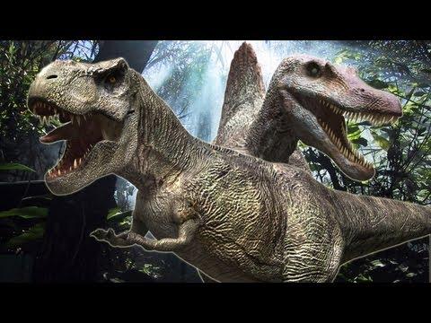 T-Rex vs Spinosaurus Sheet