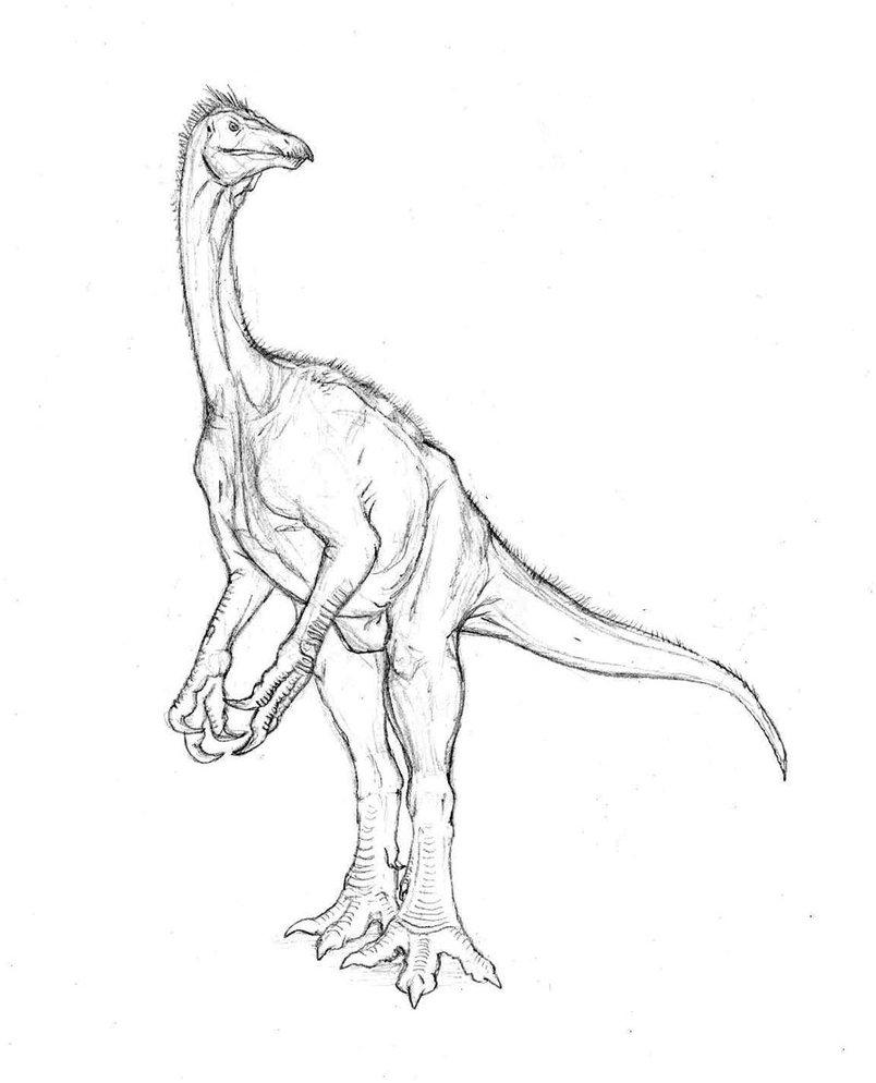 Free Utahraptor coloring pages