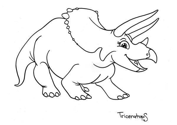 Corosaurus dinosaurs printable